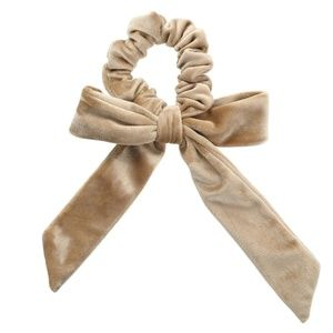 Accessories - Velvet scrunchie with bow